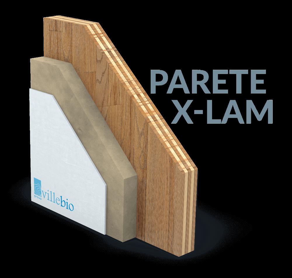 VilleBio parete legno X-Lam